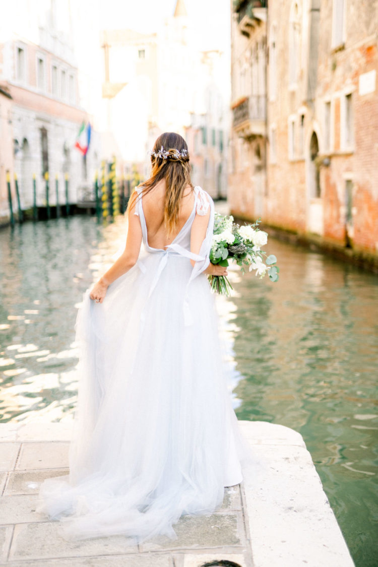 Romantic And Ethereal Elopement Shoot In Venice