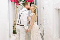 07 Greece is adorable for getting married, look how adorable the streets look