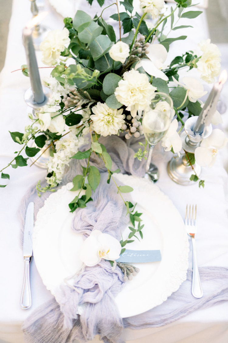 Timeless elegance could be seen in each detail of this elopement