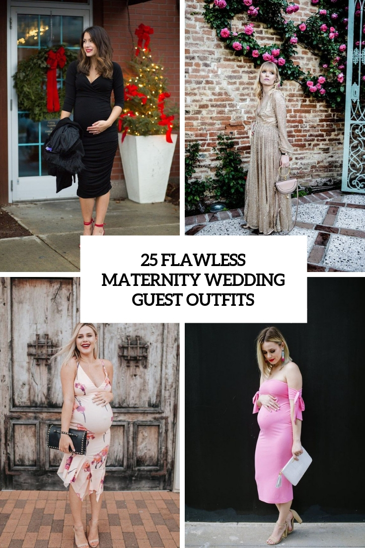 25 Flawless Maternity Wedding Guest Outfits