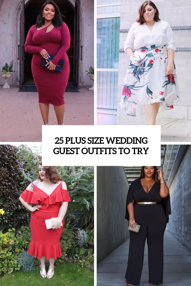 f4e96a3fd75d 25 Plus Size Wedding Guest Outfits To Try - Weddingomania