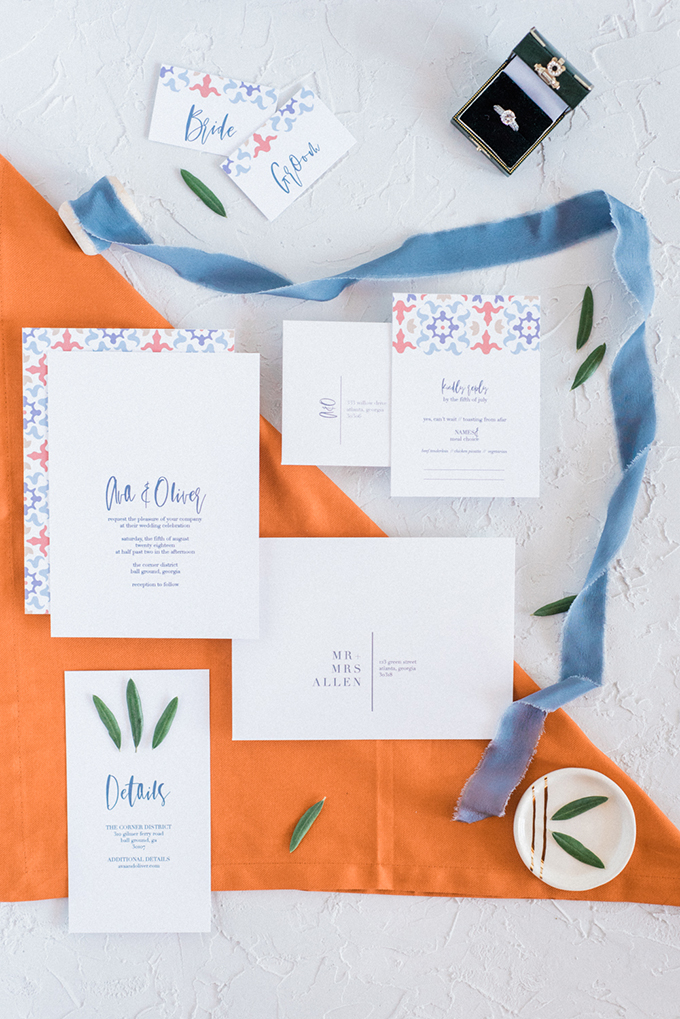 Colorful Mediterranean Inspired Wedding Shoot