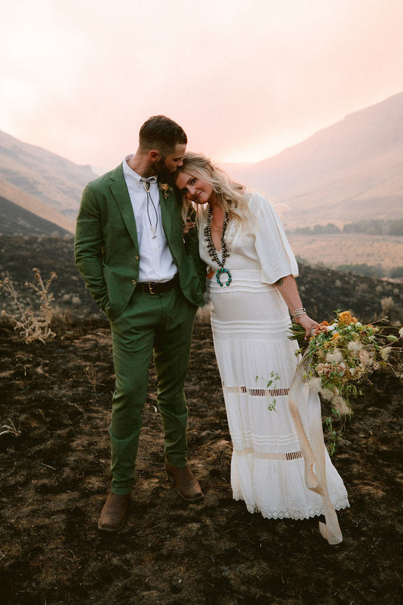Boho Elopement With A Laid Back River Trip
