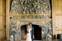 01 This modern rustic wedding shoot was inspired by Colorado nature, and it was elevated