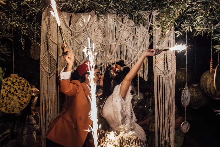 This spectacular Moroccan wedding was full of personal details, fun and perfect styling