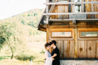 01 This wild and free-spirited wedding shoot took place in Montenegro