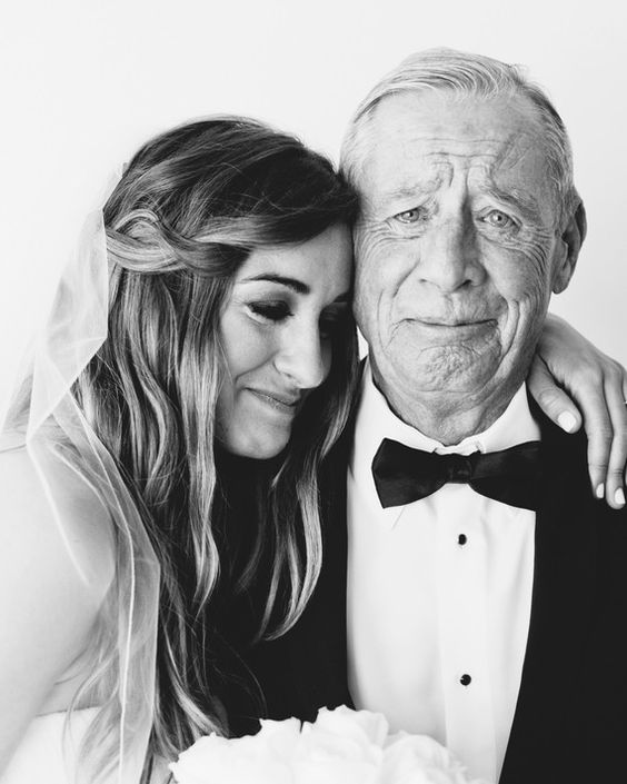 a very emotional bride and her father photo, which shows off all that love and that special touching moment