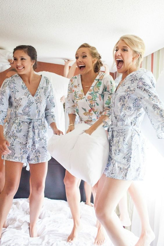 go for a pillow fight with your gals dressed up in comfy playsuits and you'll get very funny pics