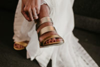 08 strappy silver mules are a cool idea, they are trendy and metallics is a bright and shiny touch