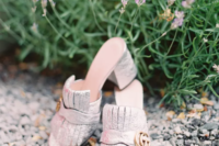 12 shimmery silver mules by Gucci will make your wedidng outfiit more fashionable and stylish