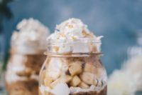 15 banana pie parfait is gluten-free and vegan and with almond and coconit and is delicious