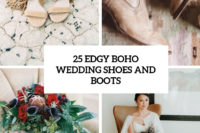 25 edgy boho wedding shoes and boots cover