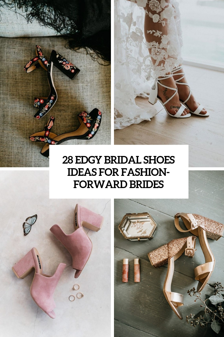 28 Edgy Bridal Shoes Ideas For Fashion-Forward Brides