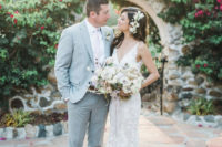 01 This couple chose a Mexican resort to tie the knot and was inspired by Spanish romanticism while creating their wedding