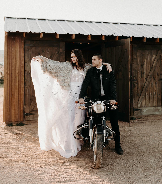 fringe coverup is a cool idea for a boho wedding