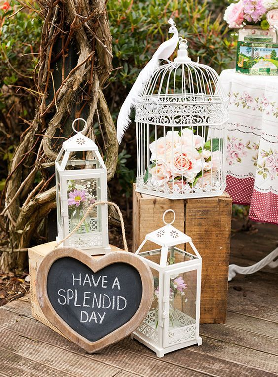 add decor to make your bridal shower feel special, style it according to the theme and colors you like