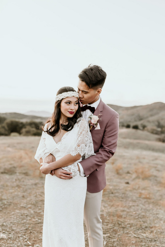 Boho Wedding Shoot With Macrame Decor