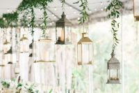 06 some candle lanterns can be hung over the reception – bring them from home and you won't pay for that