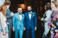 07 What gorgeous outfits the grooms chose for their big day