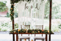 08 use your ceremony backdrop as a sweetheart table backdrop, so you won't have to pay for that