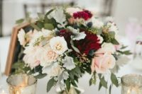 09 your bridesmaids' bouquets can double as floral centerpieces, it will save much money if you have many tables