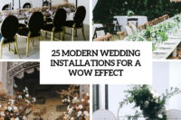 25 modern wedding installations for a wow effect cover