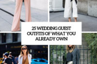 25 wedding guest outfits of what you already own cover
