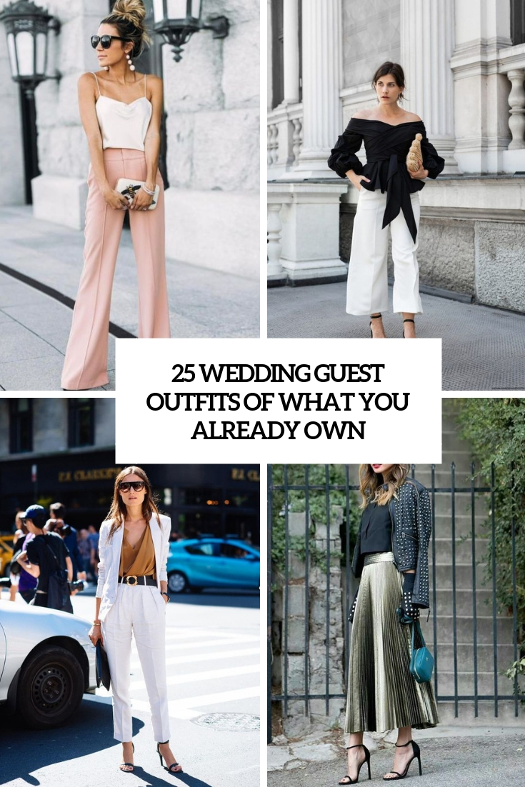 25 Wedding Guest Outfits Of What You Already Own
