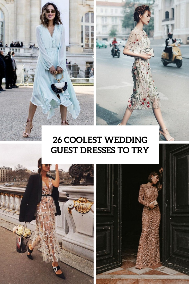 26 Coolest Wedding Guest Dresses To Try