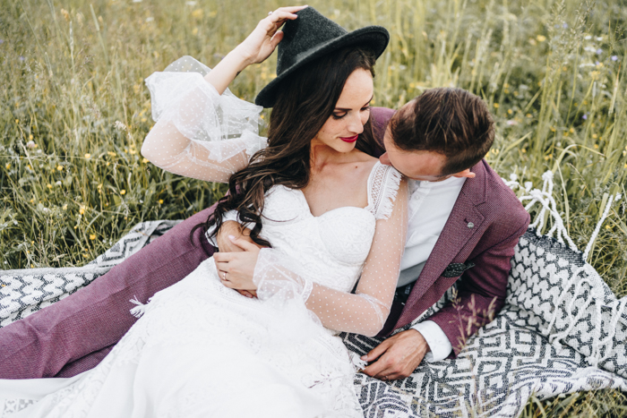 Boho Latvian Wedding Planned Around The Solstice