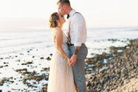 01 This romantic Hawaii wedding was inspired by Maui sunsets and was perfectly polished by the bride, who is a wedding planner