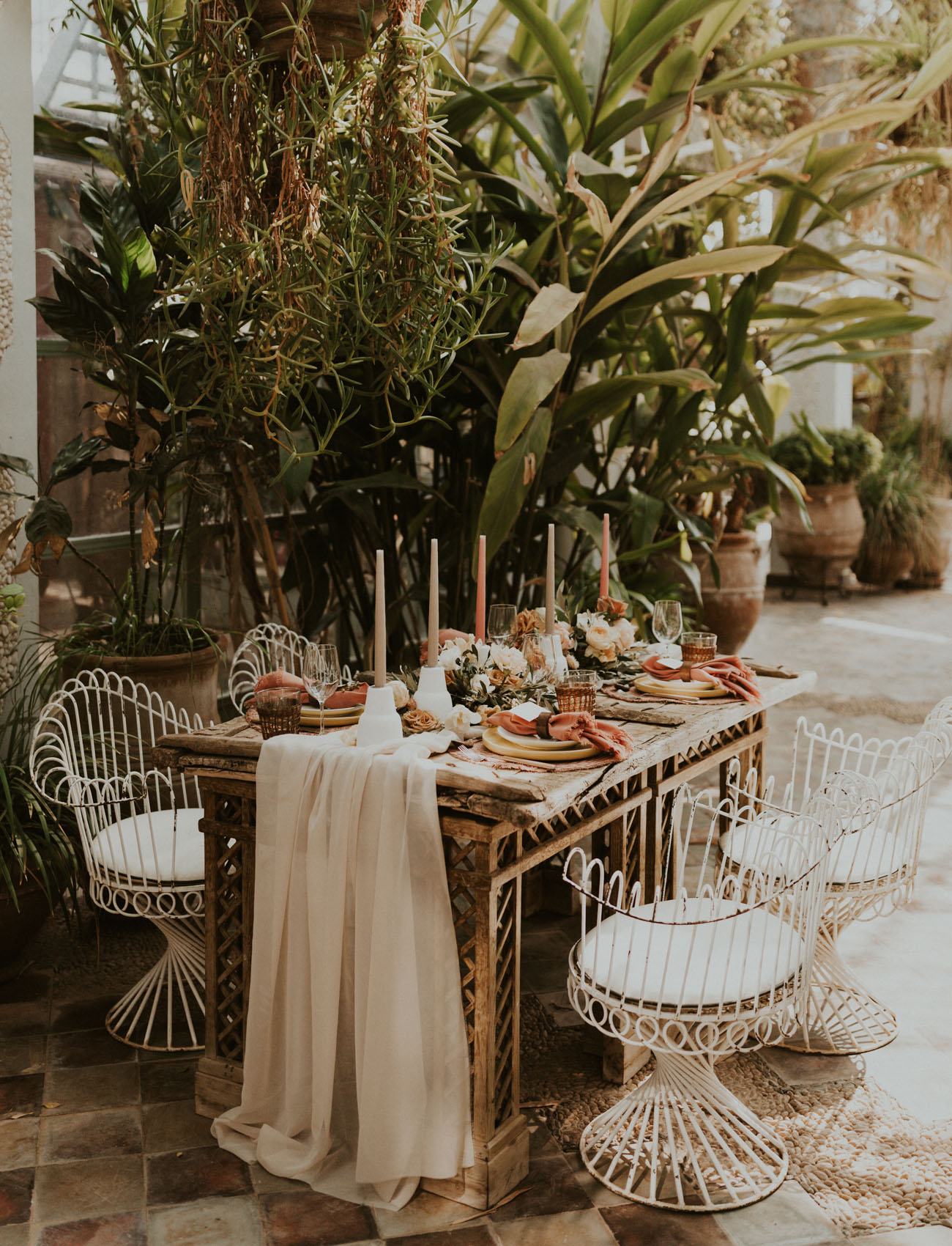 boho wedding tablespace