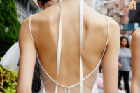 22 keep you ribbon extra long and add some drama to a ribbon-tied bun, great for a minimalist bridal look