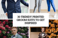 30 trendy printed groom suits to get inspired cover