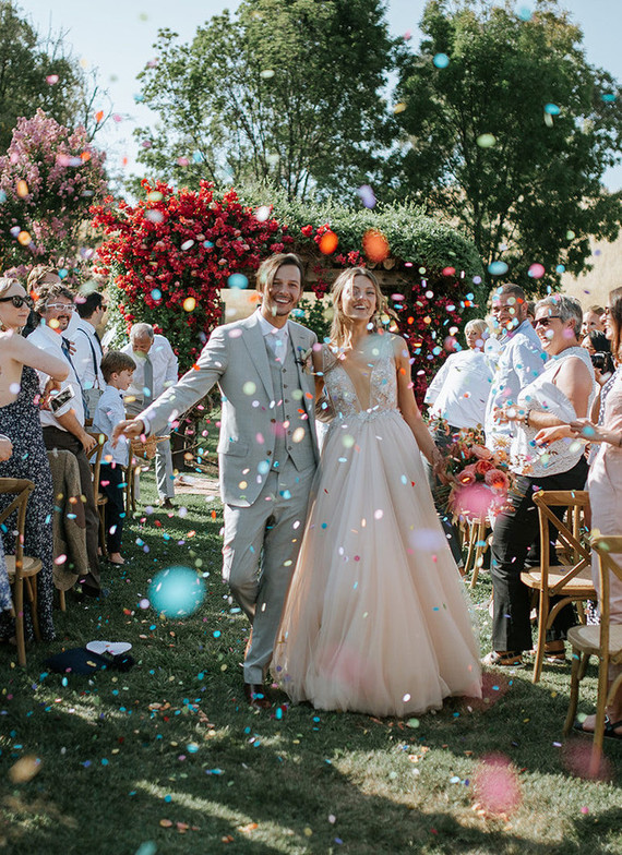 Rustic Summer Wedding Filled With Blooms And Berries