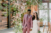01 This jaw-dropping wedding shoot shows how to completely change any venue in what you want and some examples of boho chic outfits