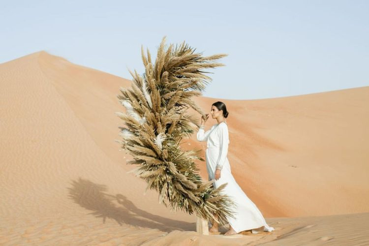 Modern Desert Wedding Shoot With A Moroccan Feel