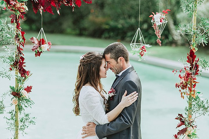 Rich And Romantic Bohemian Fall Wedding Shoot