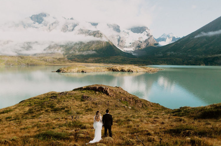 Patagonia is a fantastic place for your wedidng portraits and nuptials