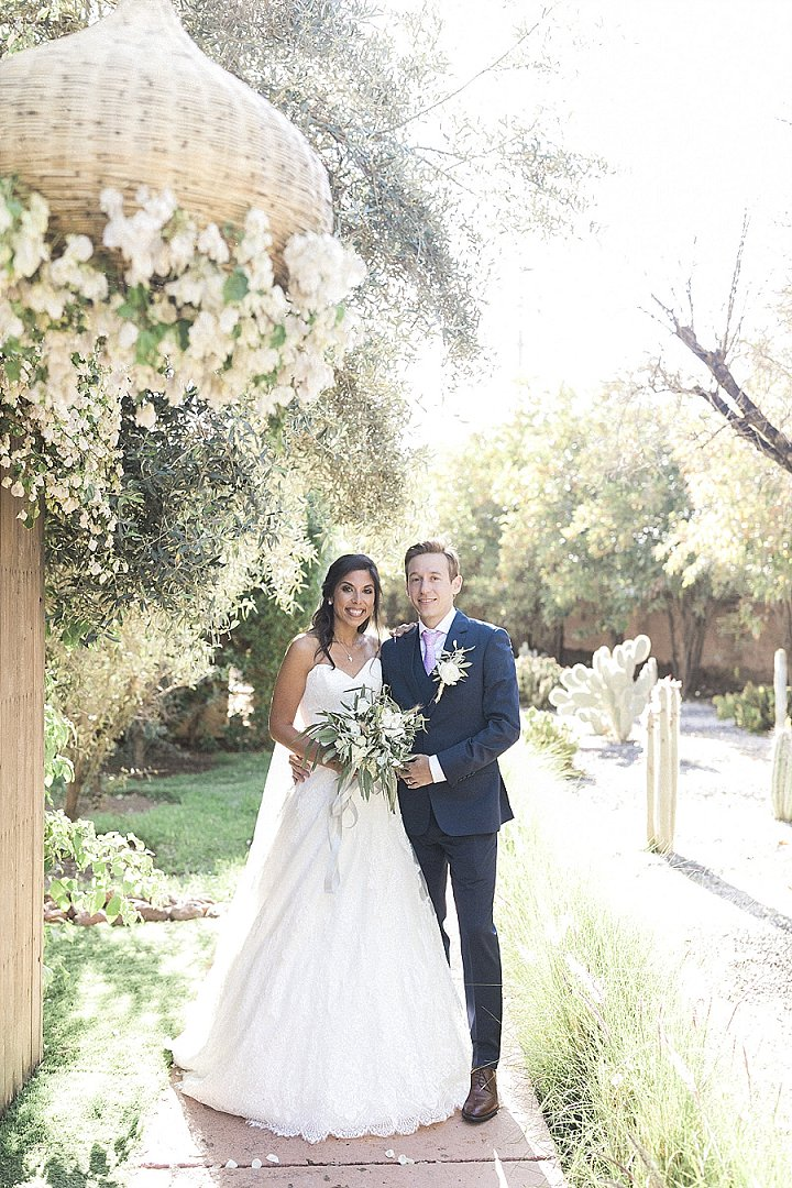 Elegant And Neutral Olive Grove Wedding In Morocco