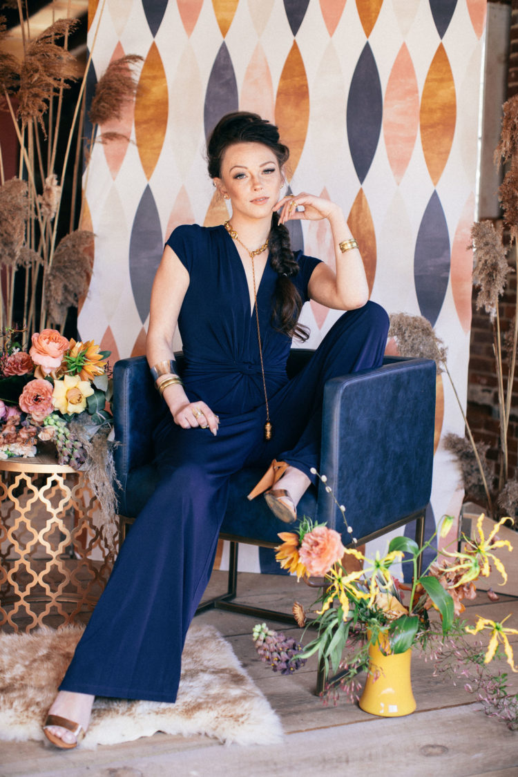 Modern Gypsy And 70s Inspired Wedding Shoot
