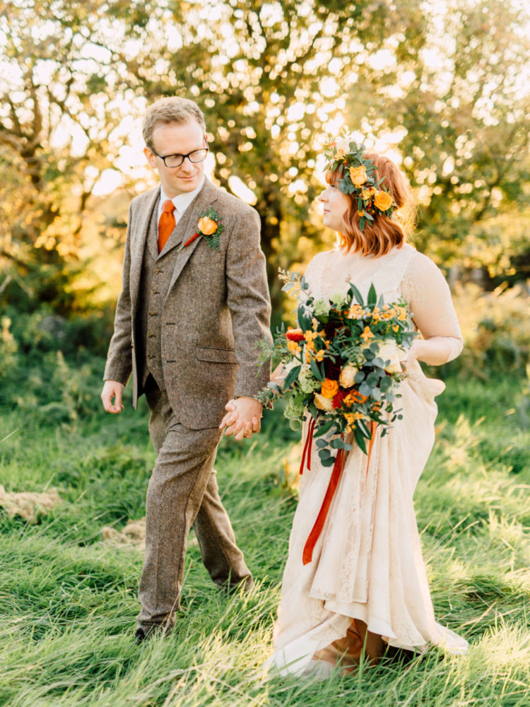 Bright Vegan Fall Wedding In Wales