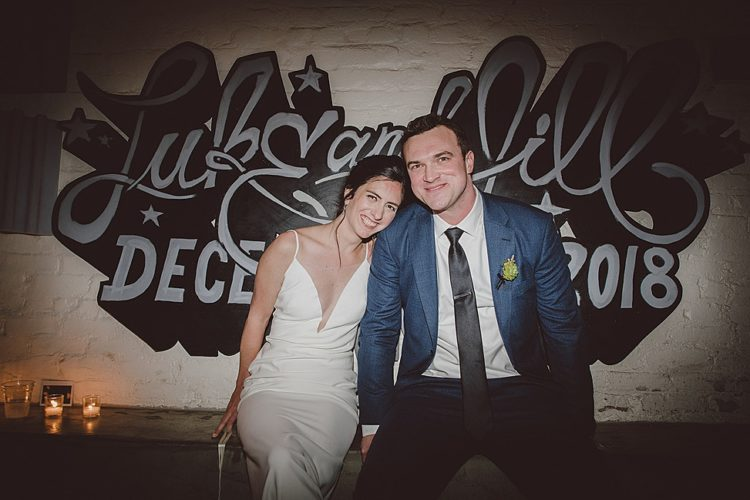 This couple, Jill and Luke, went for a rustic meets extravaganza wedding in Brooklyn and everyone had much fun there