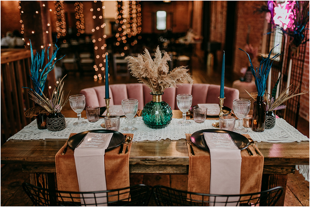 macrame table decor is a perfect boho touch