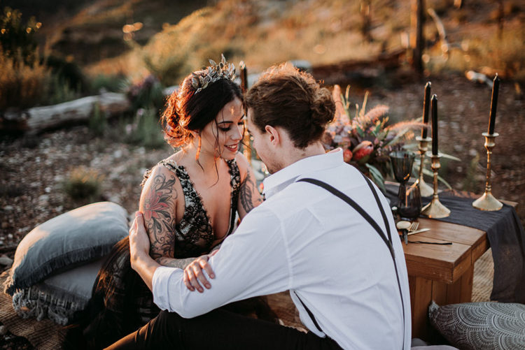 What a lovely wedding shoot with a beautiful couple