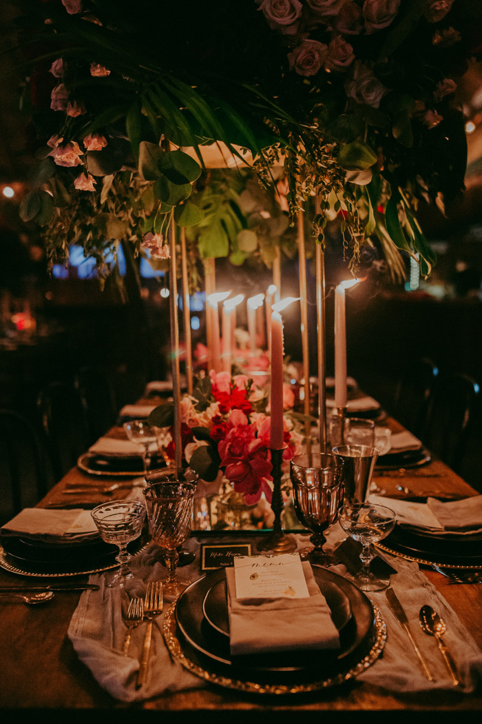 Look how amazing the tablescape looks