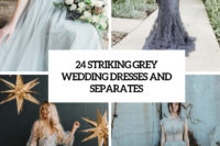24 striking grey wedding dresses and separates cover