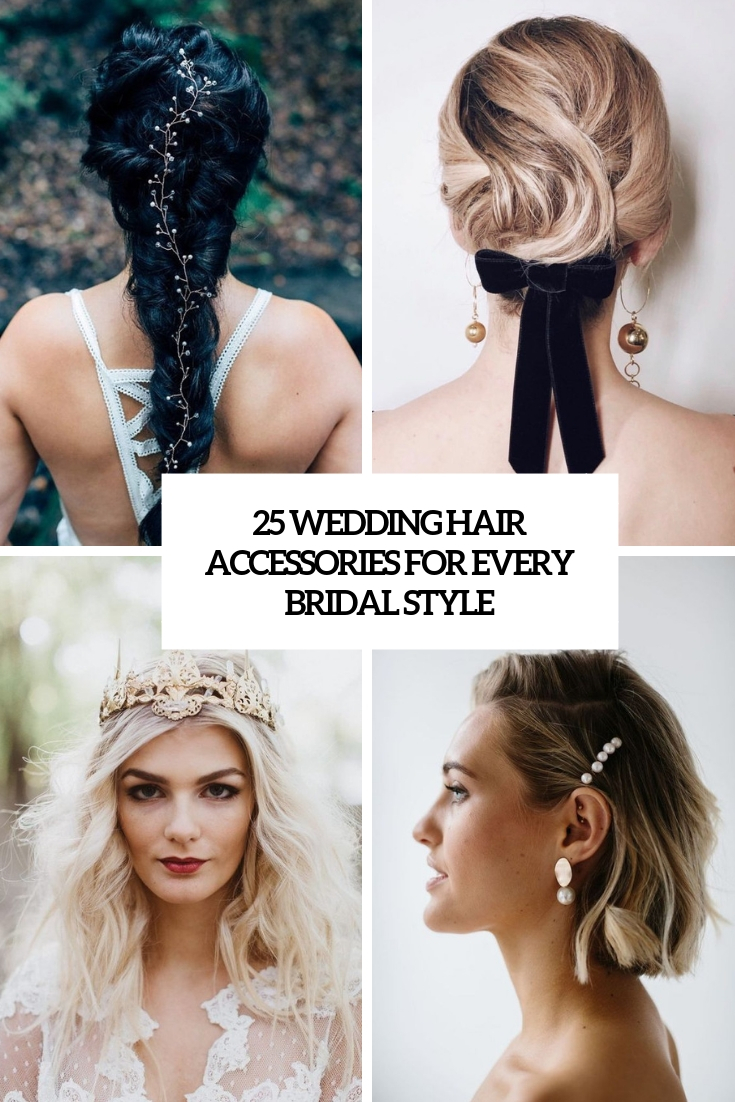 wedding hair accessories for every bridal style cover