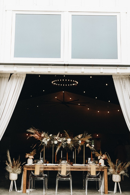 The Mulberry place was absolutely suitable for rustic cozy weddings
