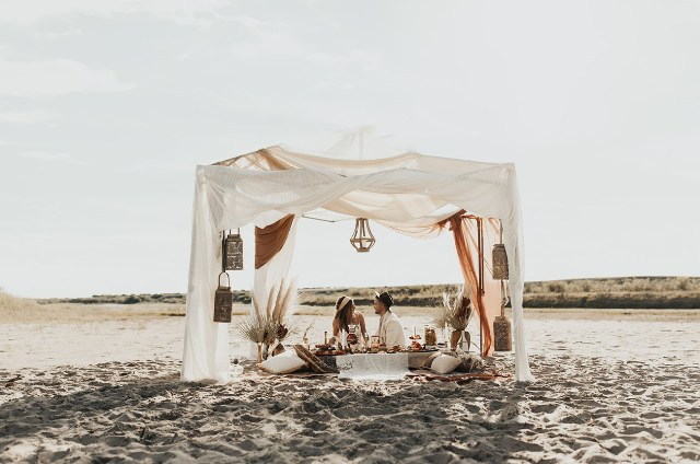 Amazing Elopement In Moroccan Style